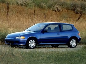 Ver foto 3 de Honda Civic Hatchback 1991