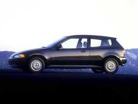 Ver foto 2 de Honda Civic Hatchback 1991