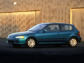 Fotos de Honda Civic Hatchback 1991