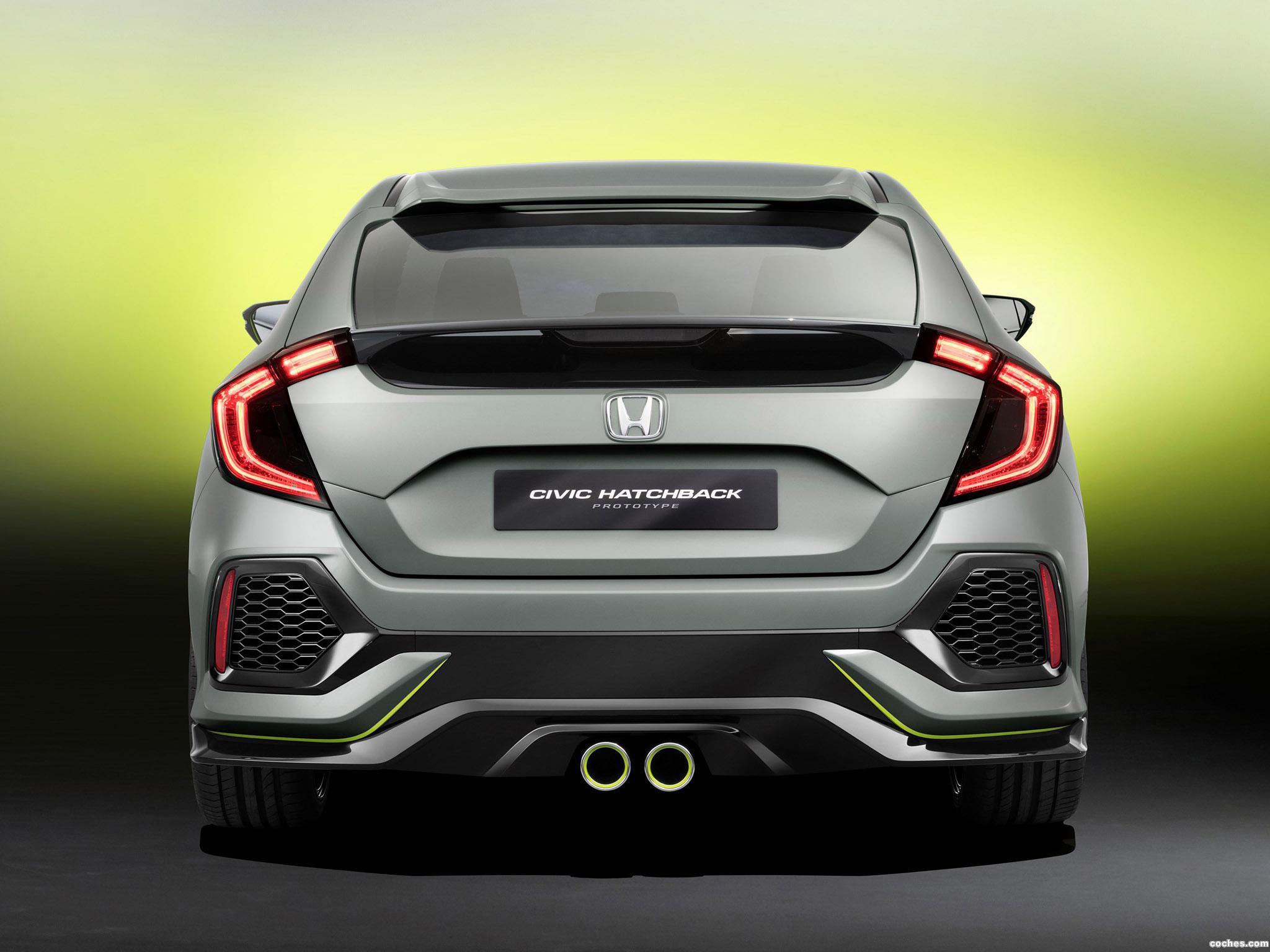 Foto 1 de Honda Civic Hatchback Concept 2016