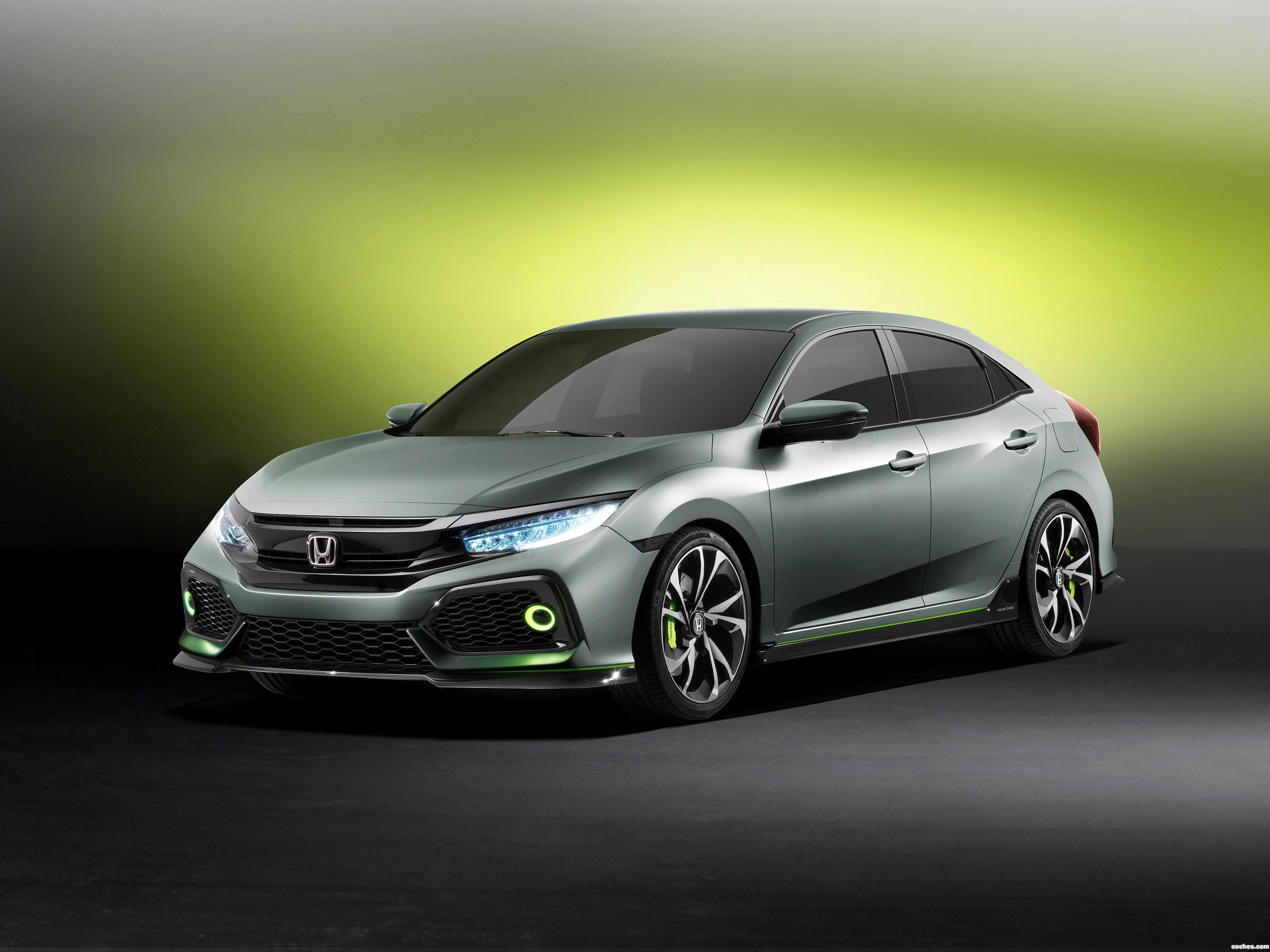 Foto 0 de Honda Civic Hatchback Concept 2016