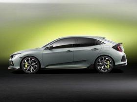 Ver foto 5 de Honda Civic Hatchback Concept 2016
