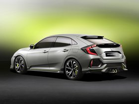 Ver foto 4 de Honda Civic Hatchback Concept 2016