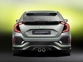 Ver foto 2 de Honda Civic Hatchback Concept 2016