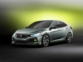Ver foto 1 de Honda Civic Hatchback Concept 2016