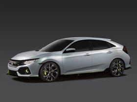 Ver foto 6 de Honda Civic Hatchback Concept 2016