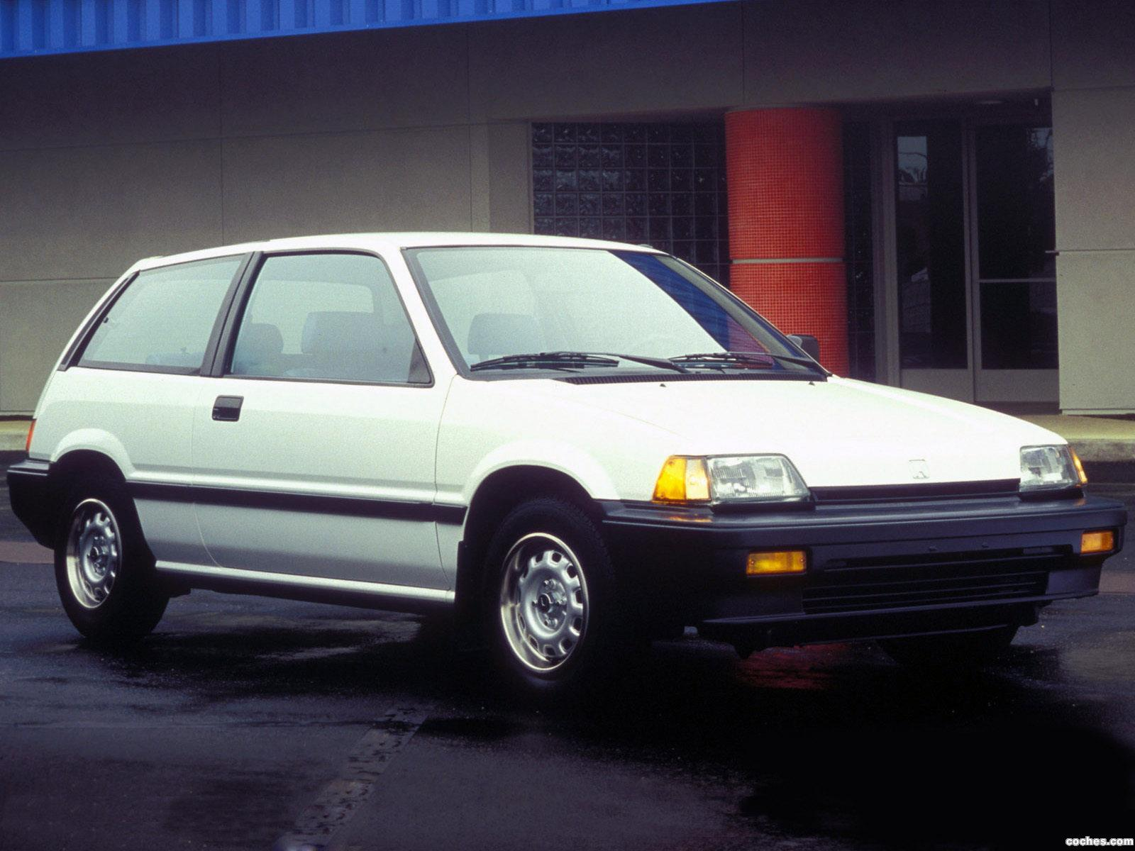 Foto 0 de Honda Civic Hatchback USA 1983