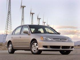 Ver foto 5 de Honda Civic Hybrid 2001