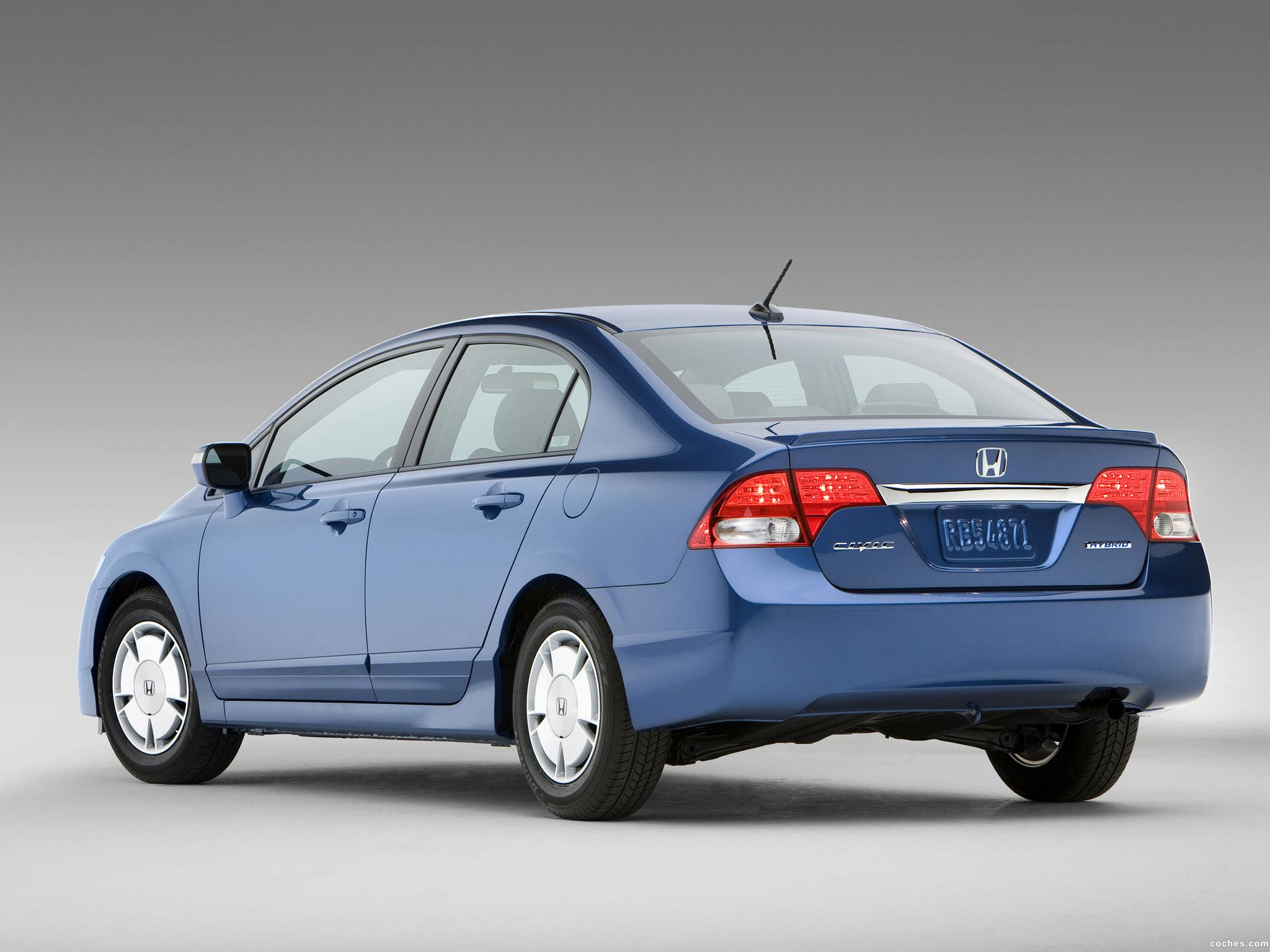 Foto 3 de Honda Civic Hybrid USA 2008