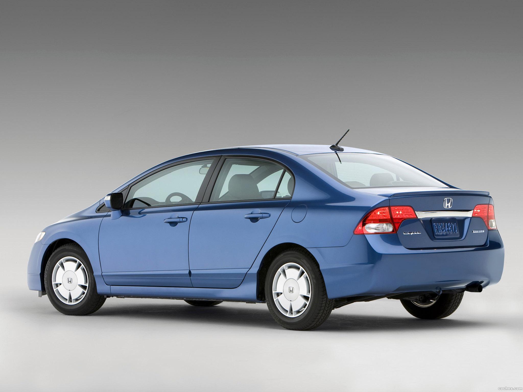 Foto 2 de Honda Civic Hybrid USA 2008