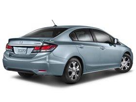 Ver foto 6 de Honda Civic Hybrid USA 2013