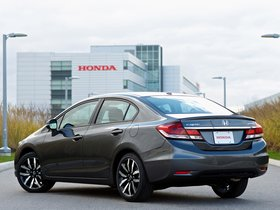 Ver foto 3 de Honda Civic Sedan 2013
