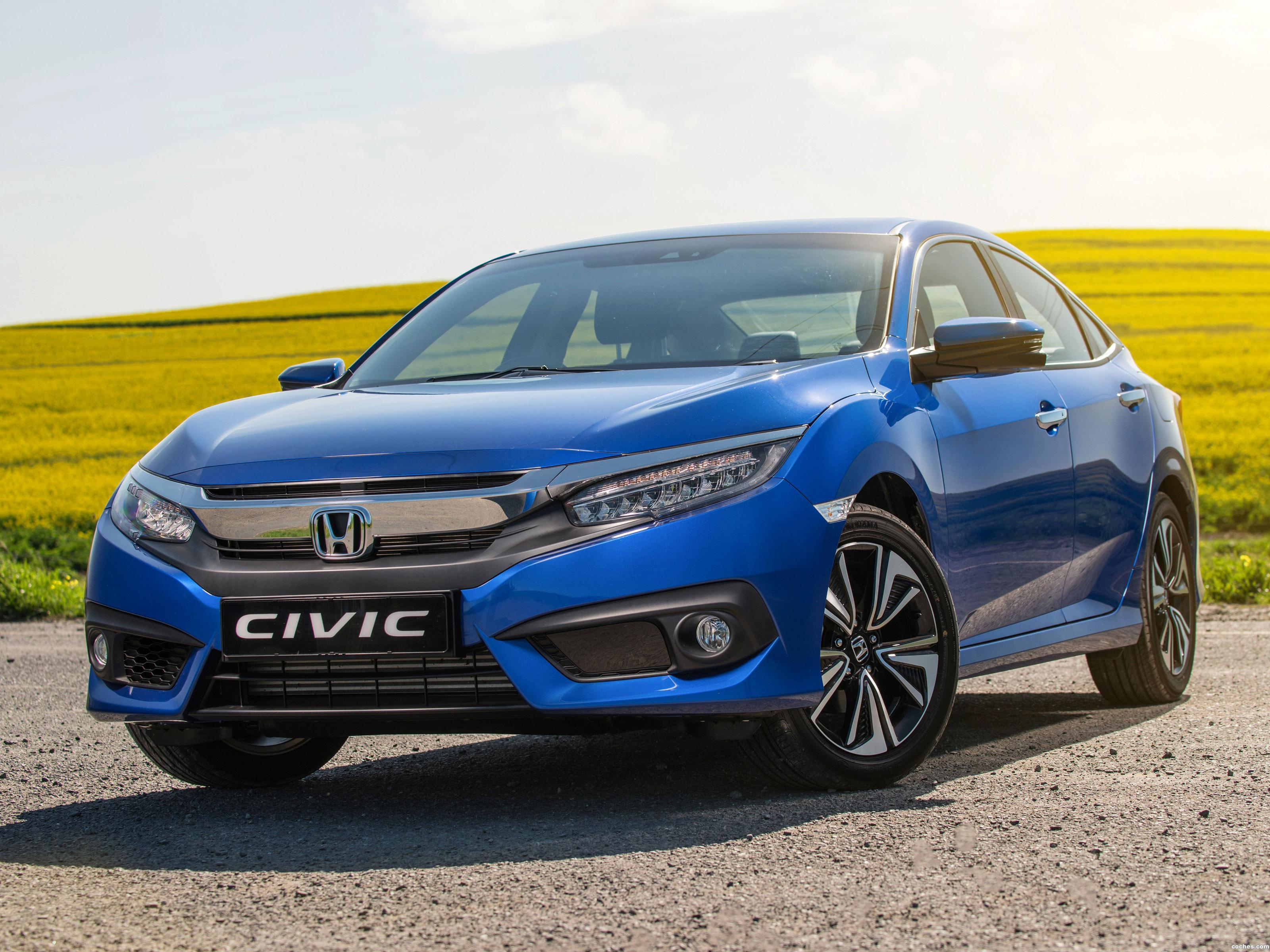 Fotos De Honda Civic Sedan 2016