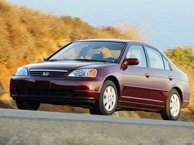 Fotos de Honda Civic Sedan USA 2001