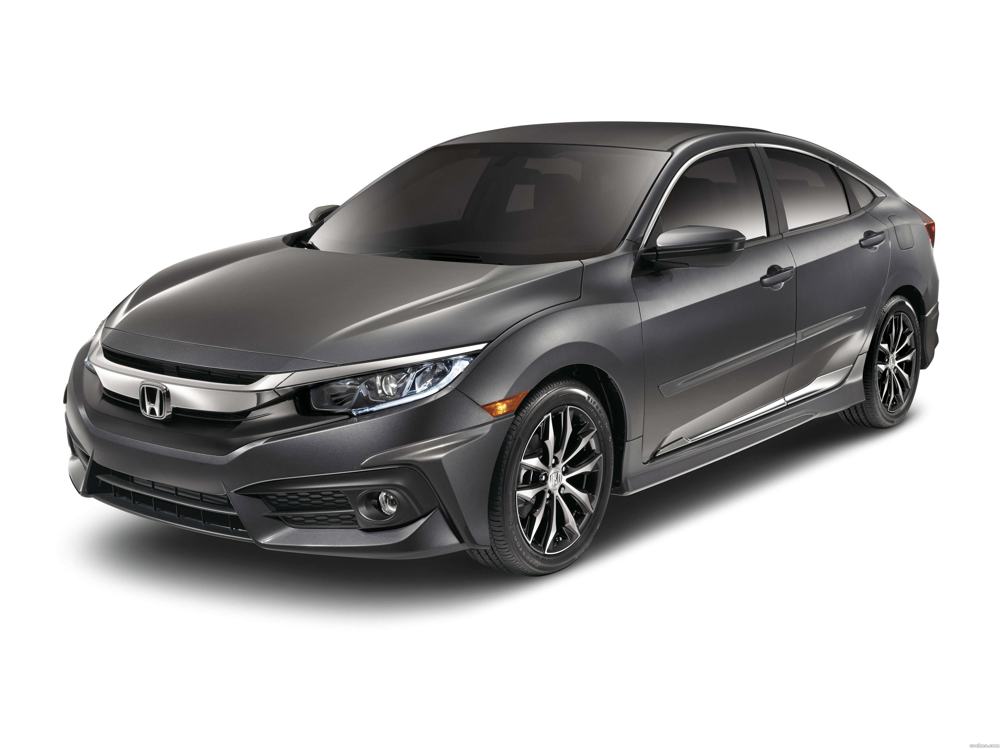 Foto 0 de Honda Civic Sedan With Genuine Accessories USA 2015
