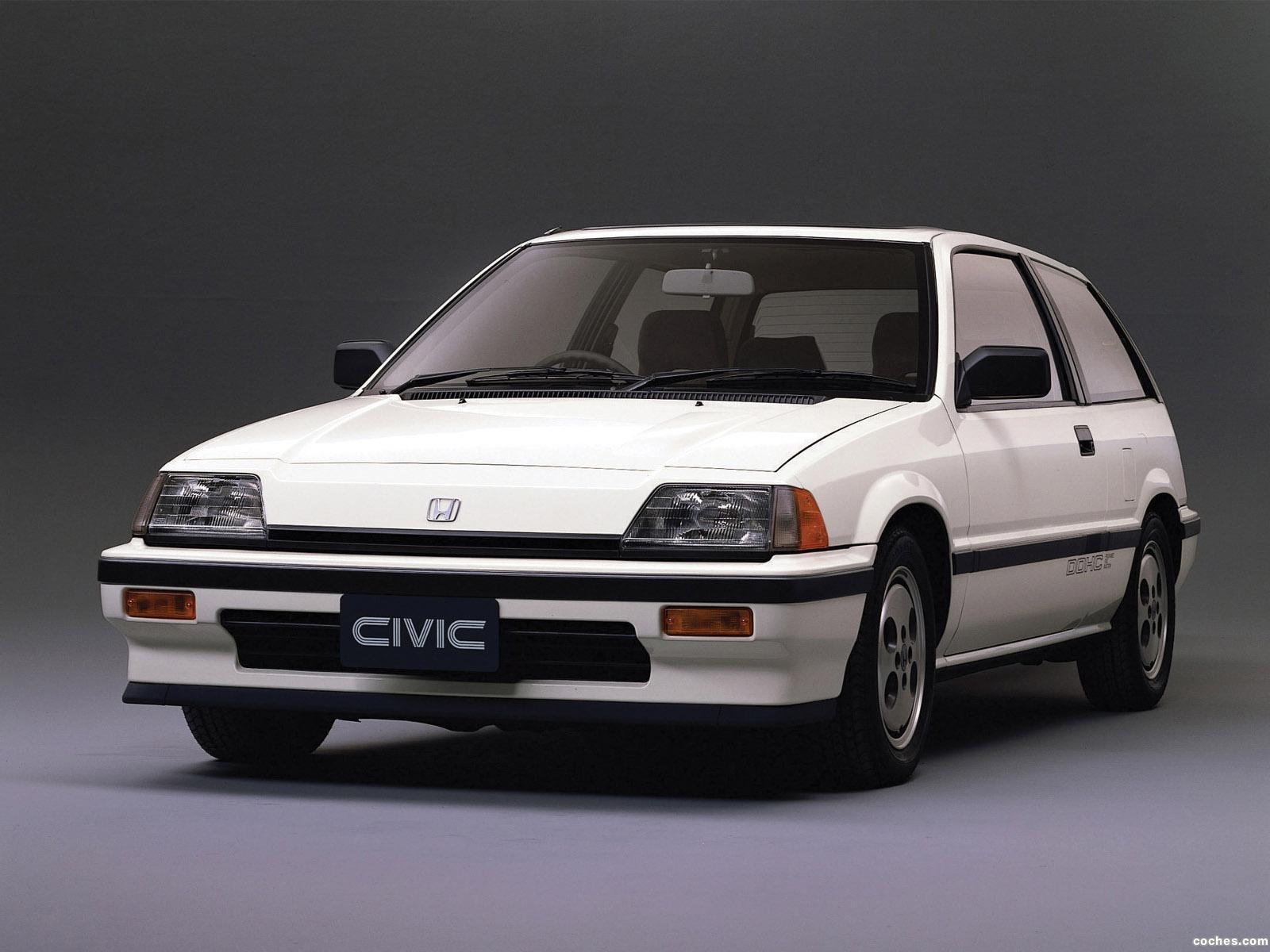 Foto 5 de Honda Civic Si 1984