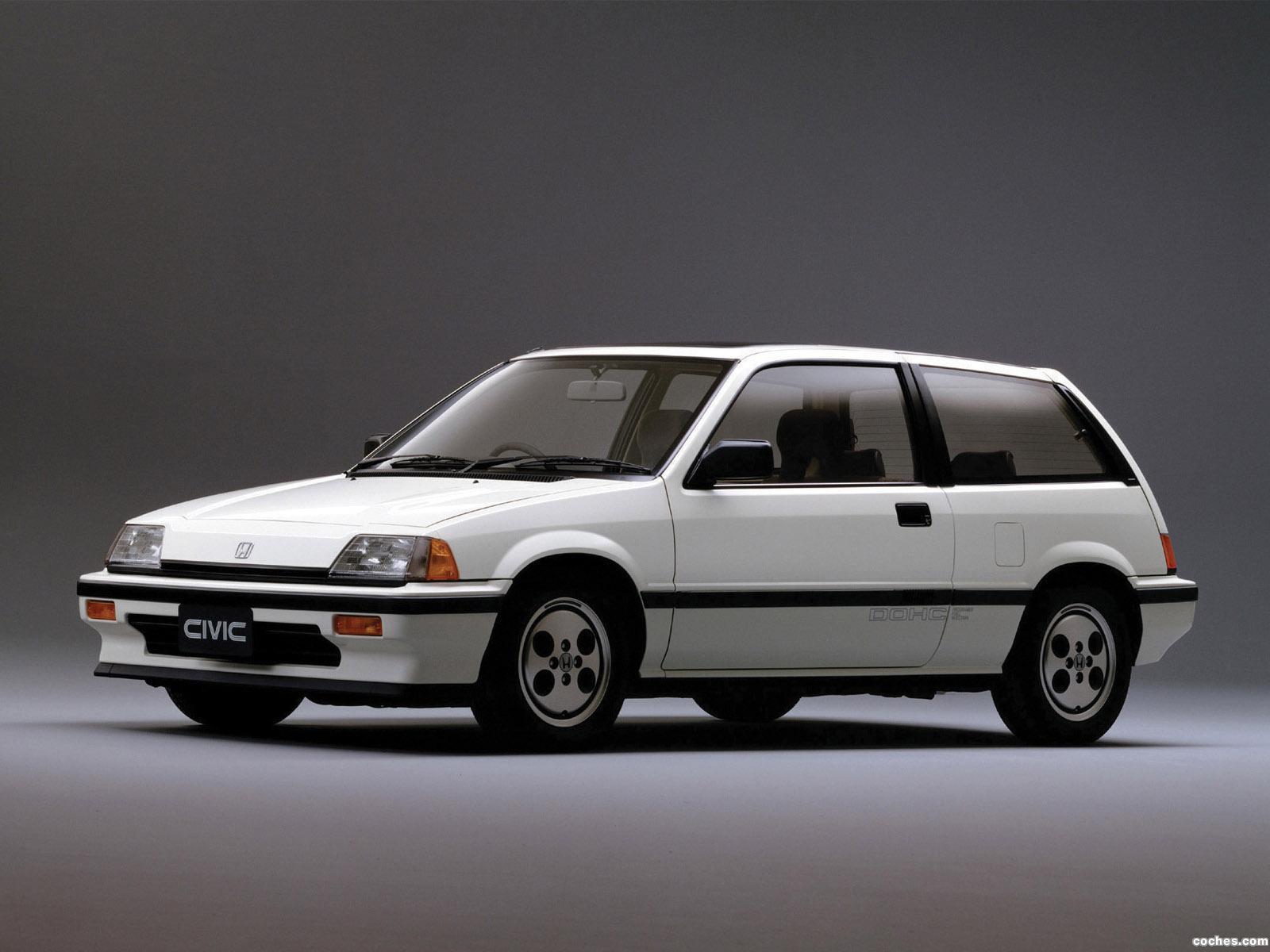 Foto 4 de Honda Civic Si 1984