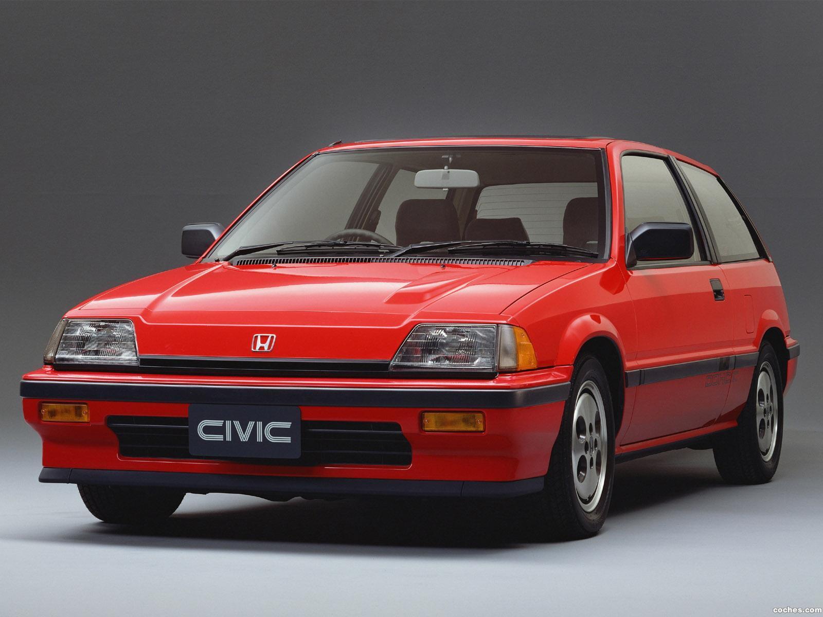 Foto 0 de Honda Civic Si 1984