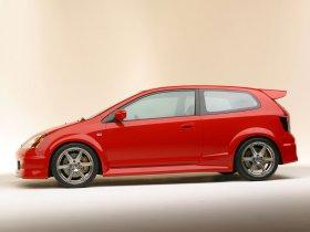 Ver foto 3 de Honda Civic Si Concept 2003