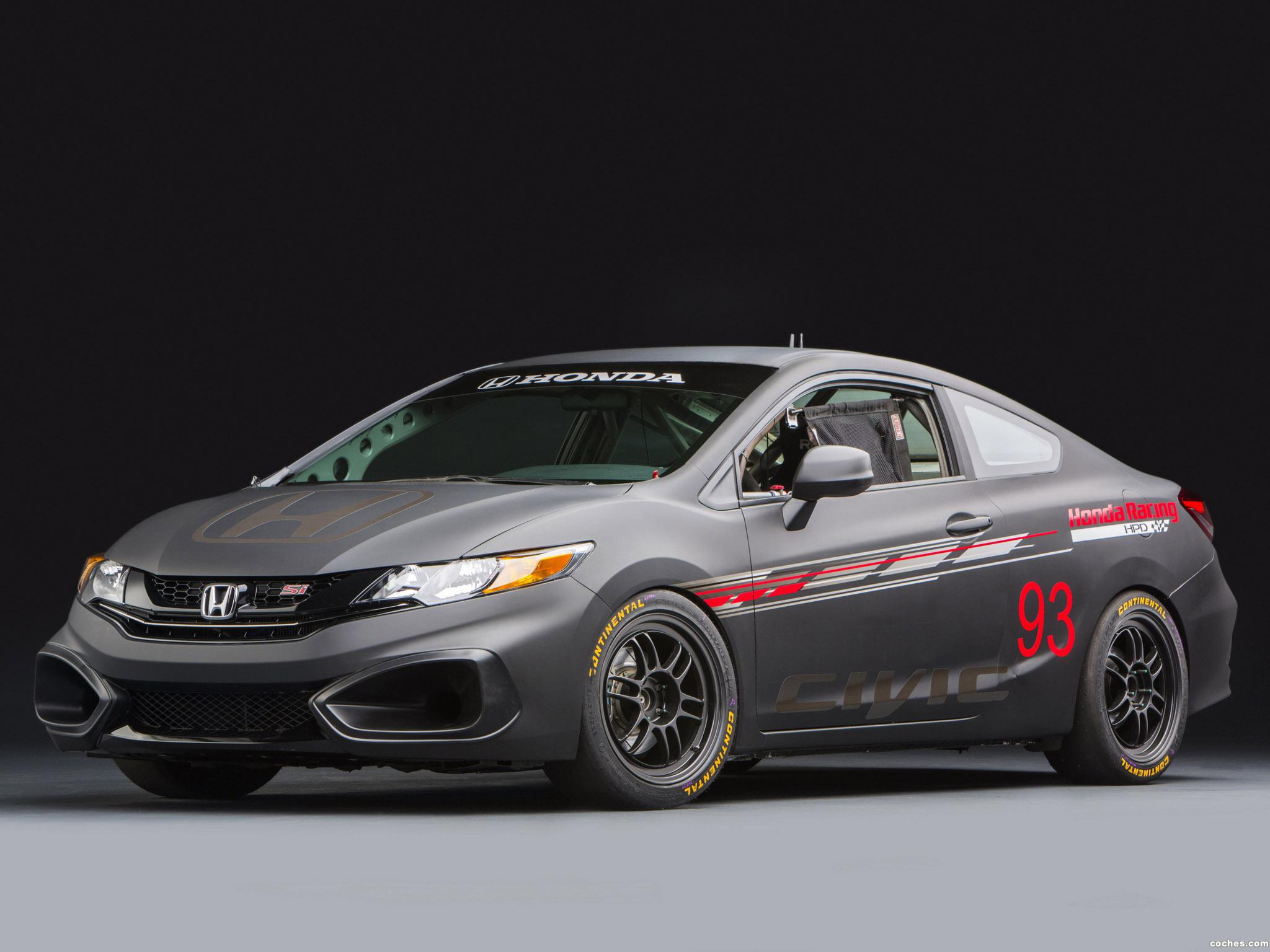 Foto 0 de Honda Civic Si Coupe Race Car by HPD 2013