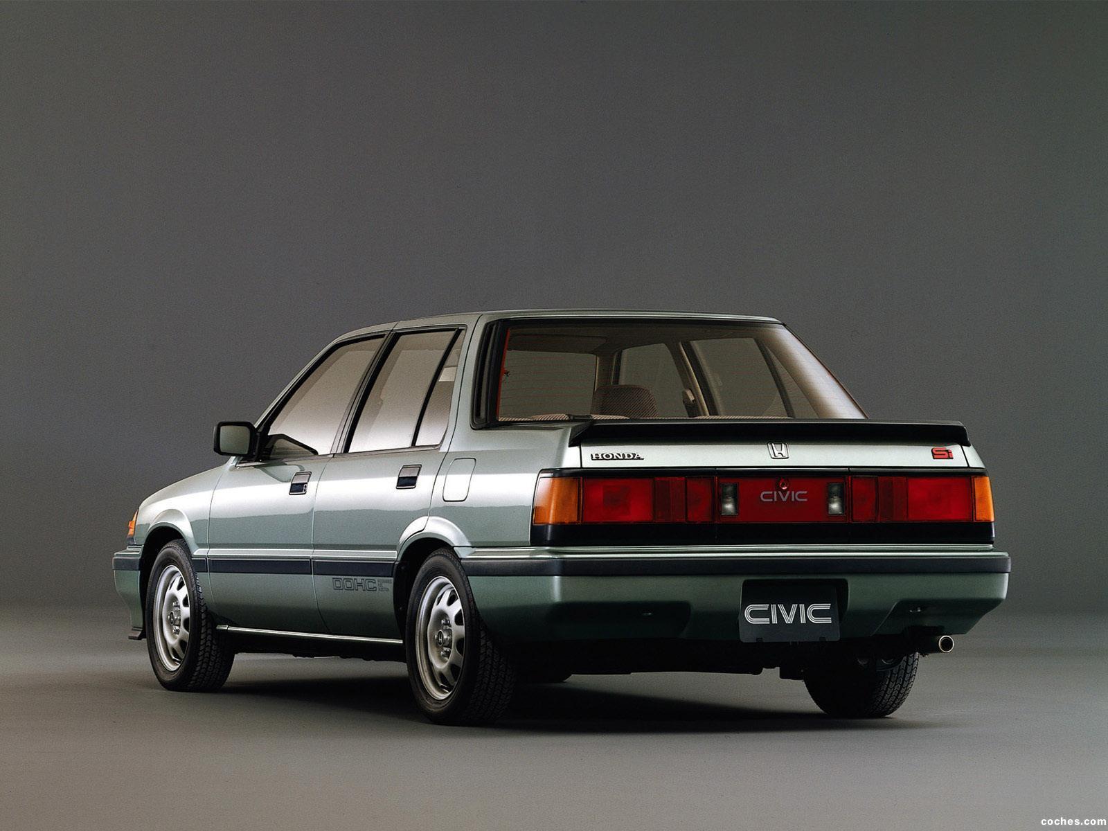 Fotos de honda civic si sedan 1985 foto 1 for Honda civic 1985