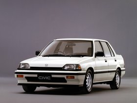 Fotos de Honda Civic Si Sedan 1985