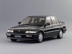 Fotos de Honda Civic Si Sedan 1989