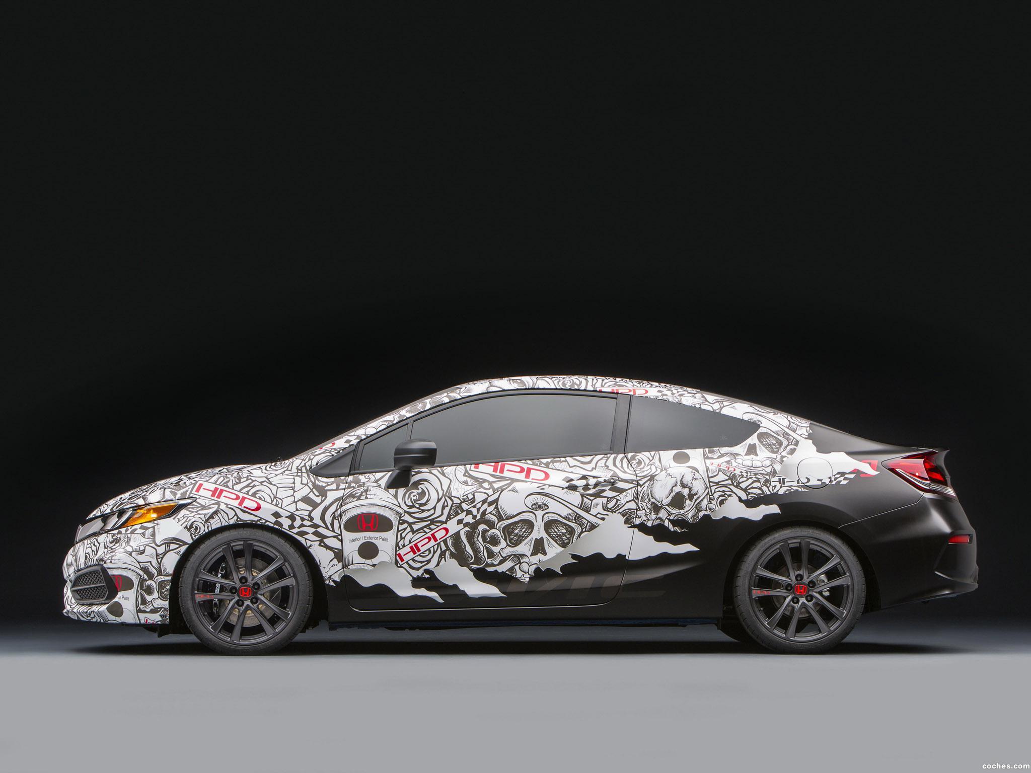 Foto 1 de Honda Civic Street Performance Concept by HPD  2013