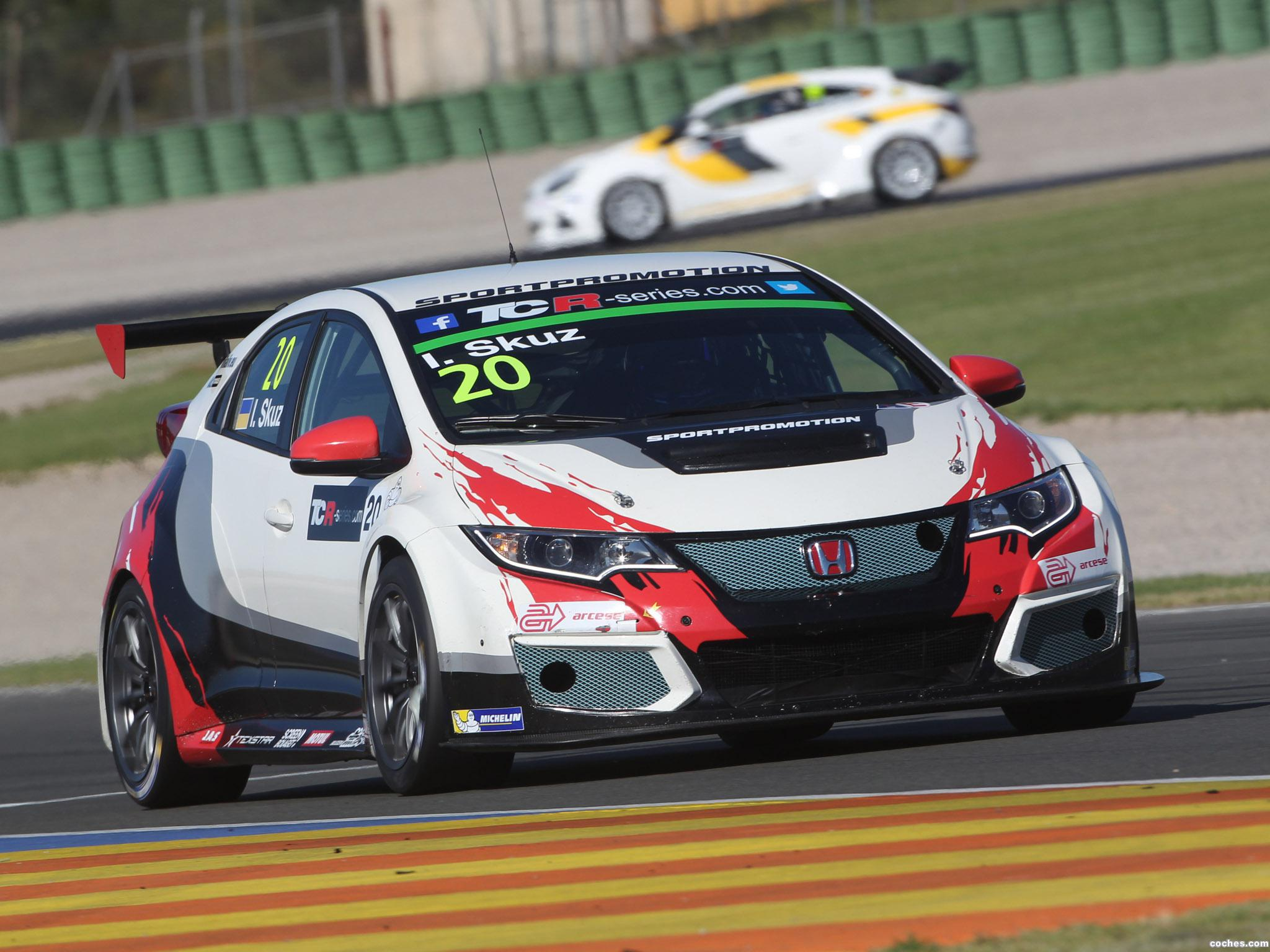 Foto 7 de Honda Civic TCR 2015