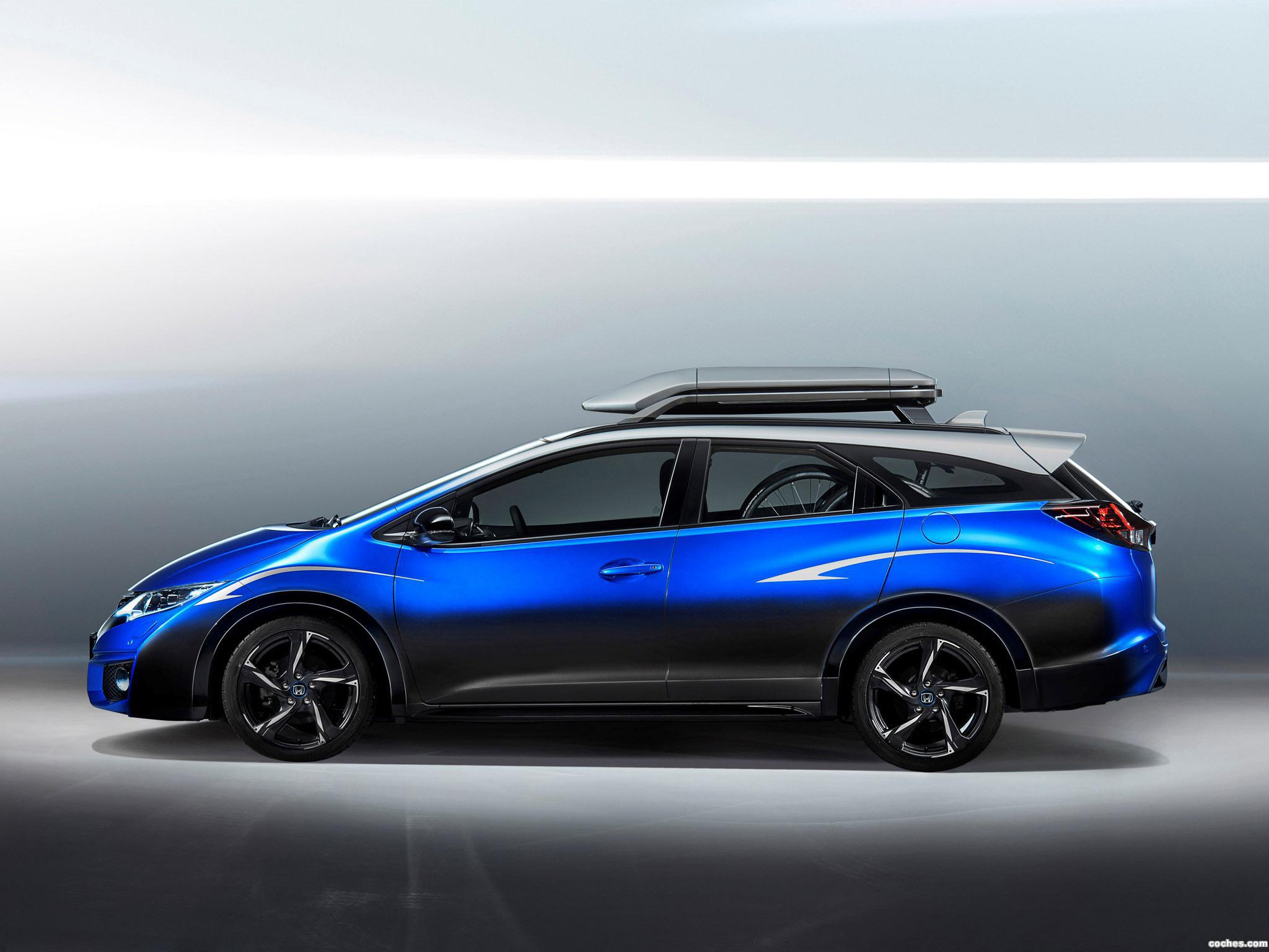 Foto 0 de Honda Civic Tourer Active Life Concept 2015