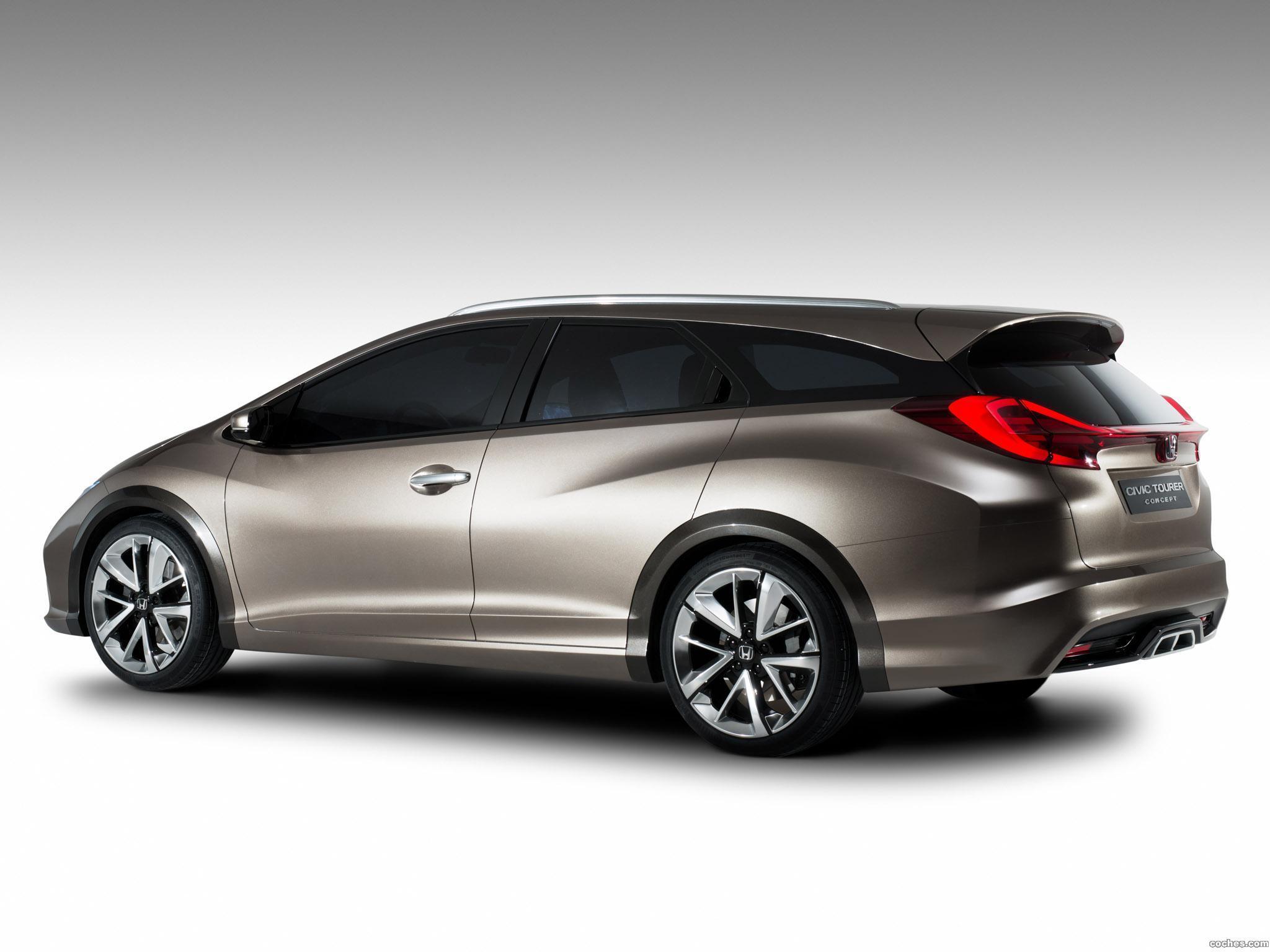 Foto 4 de Honda Civic Tourer Concept 2013