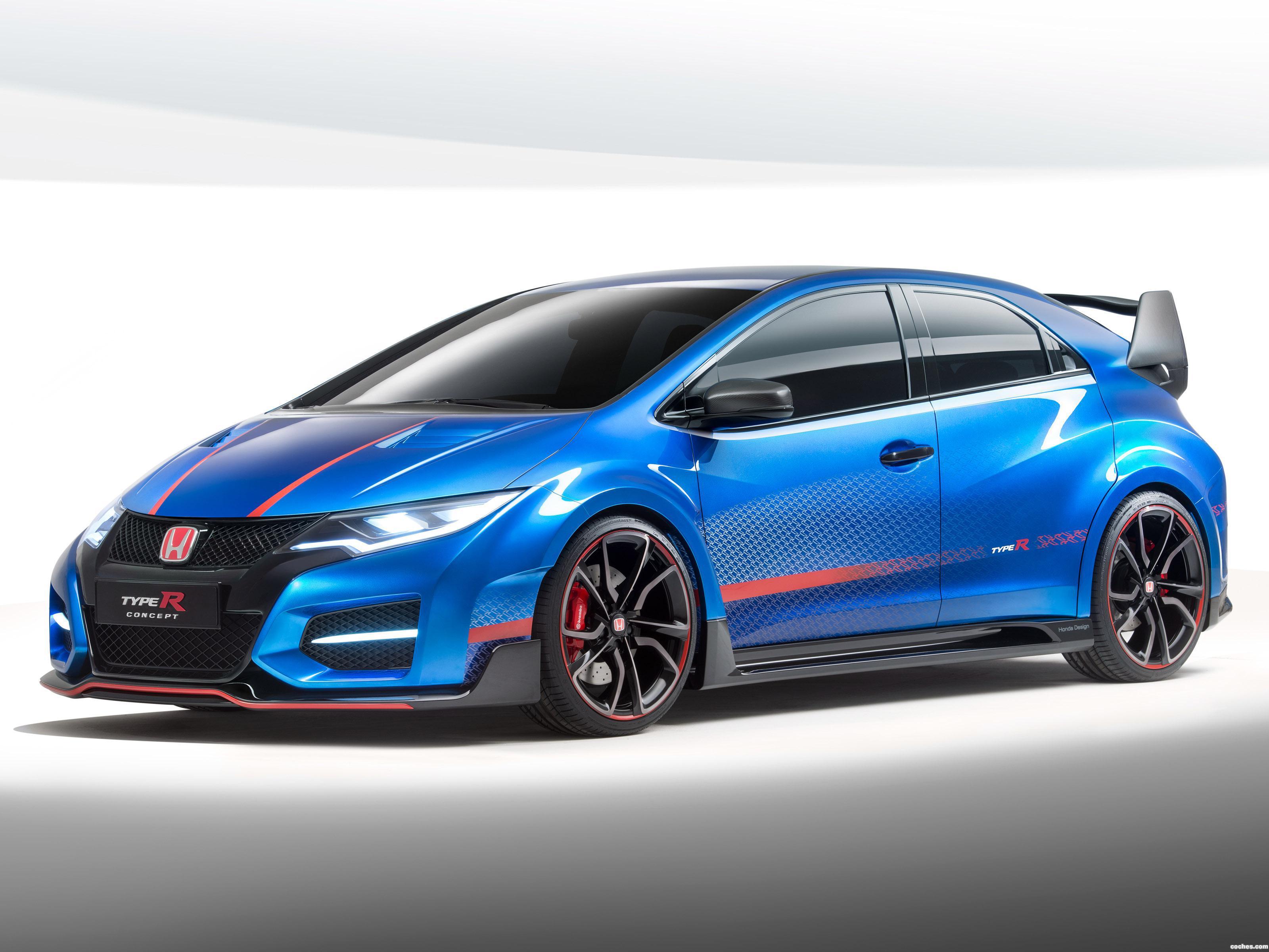 Foto 0 de Honda Civic Type-R Concept II 2014