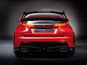 Ver foto 6 de Honda Civic Type R Concept 2014
