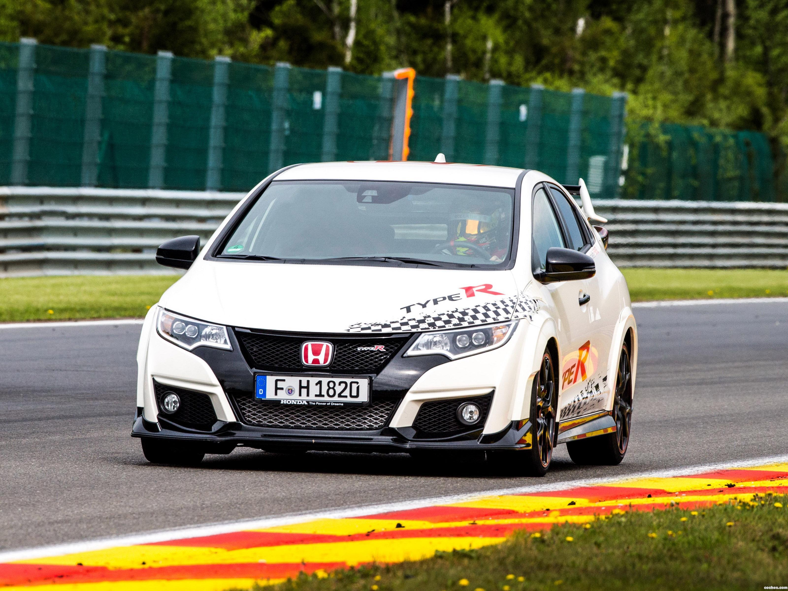 Foto 0 de Honda Civic Type-R European Race Circuits Challenge 2016