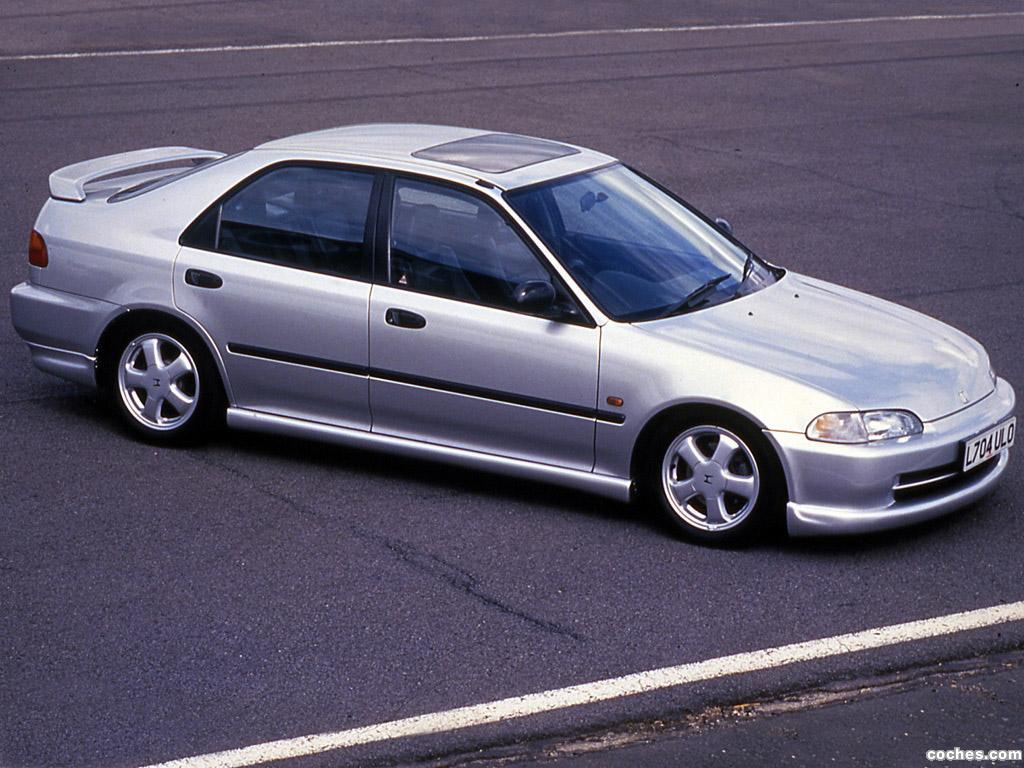 Foto 0 de Honda Civic VTi Sedan UK 1991