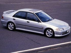 Fotos de Honda Civic VTi Sedan UK 1991