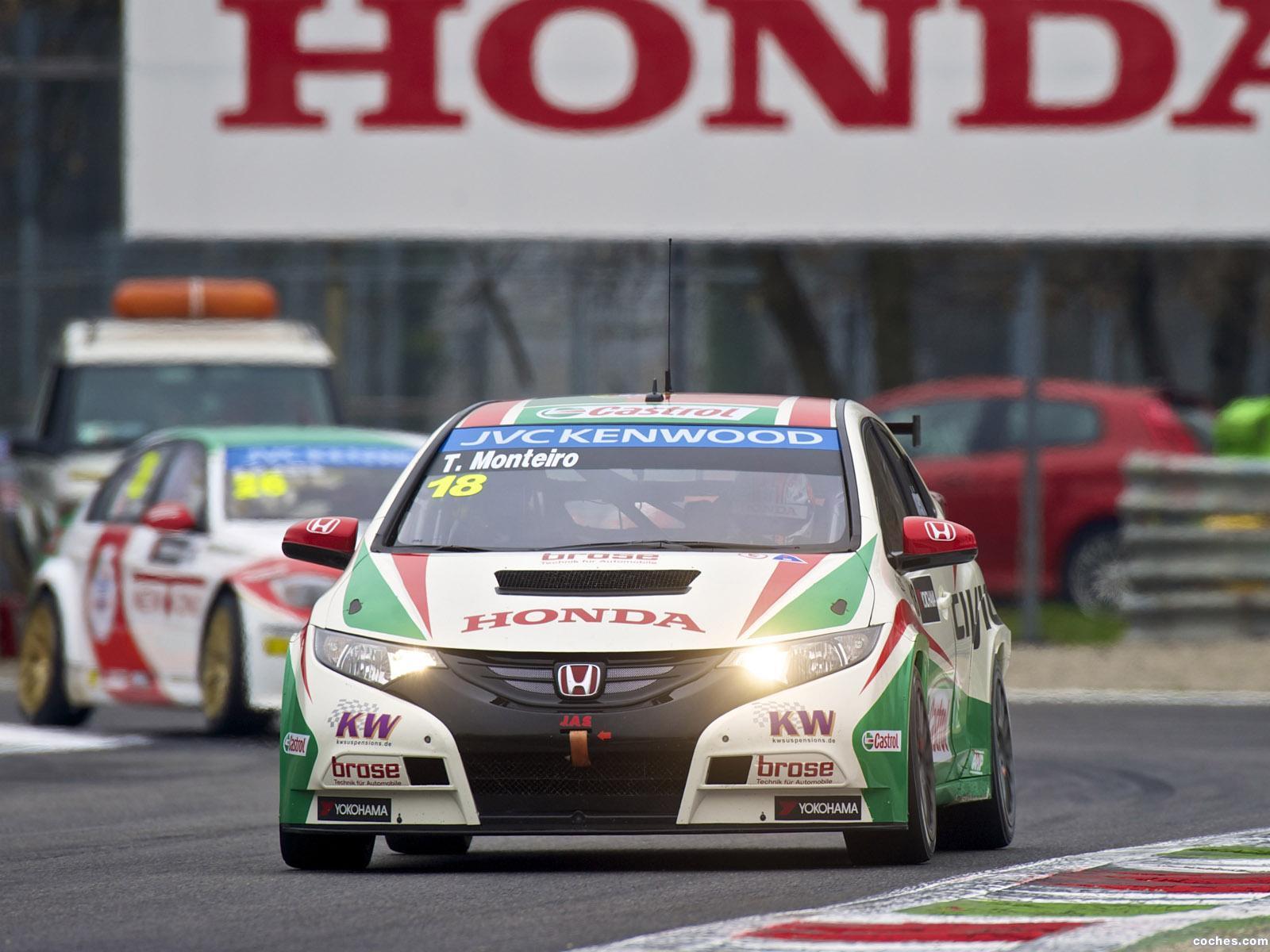 Foto 3 de Honda Civic WTCC 2013