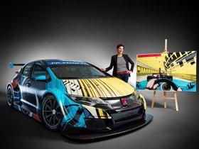 Ver foto 2 de Honda Civic WTCC Art Car Jean Graton 2016