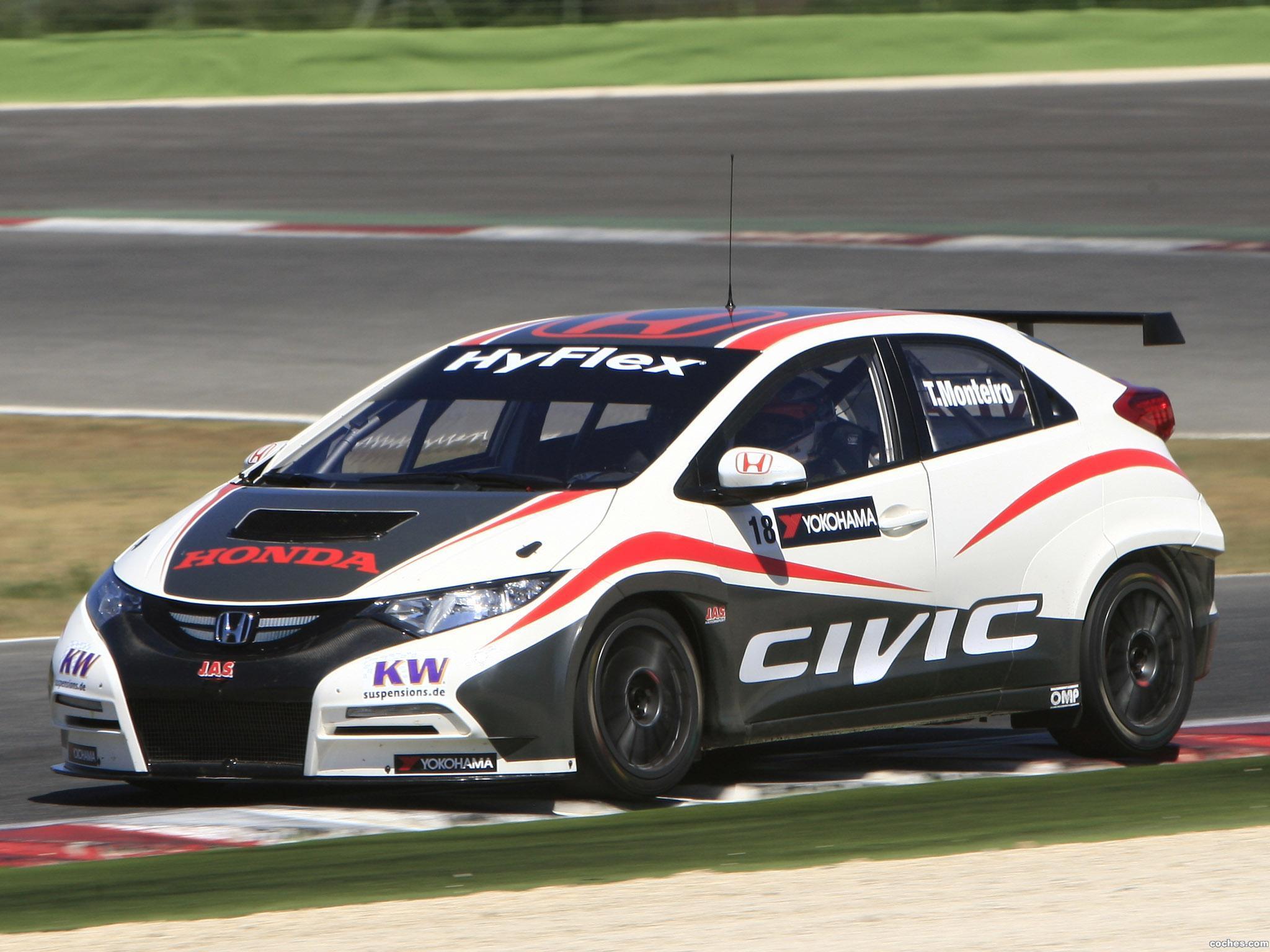 Foto 0 de Honda Civic WTCC Prototype 2012