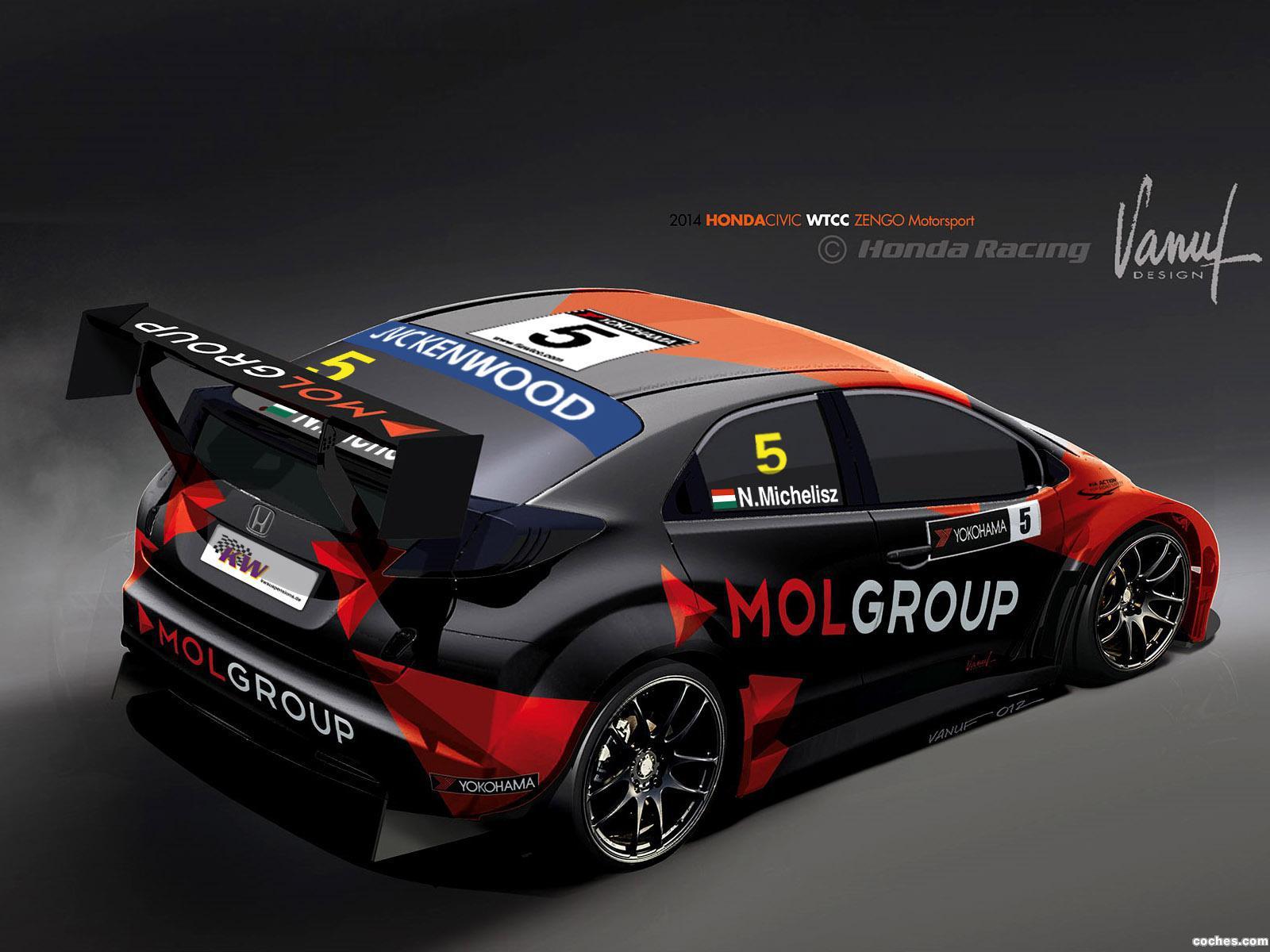 Foto 3 de Honda Civic WTCC Zengo Motorsport 2014