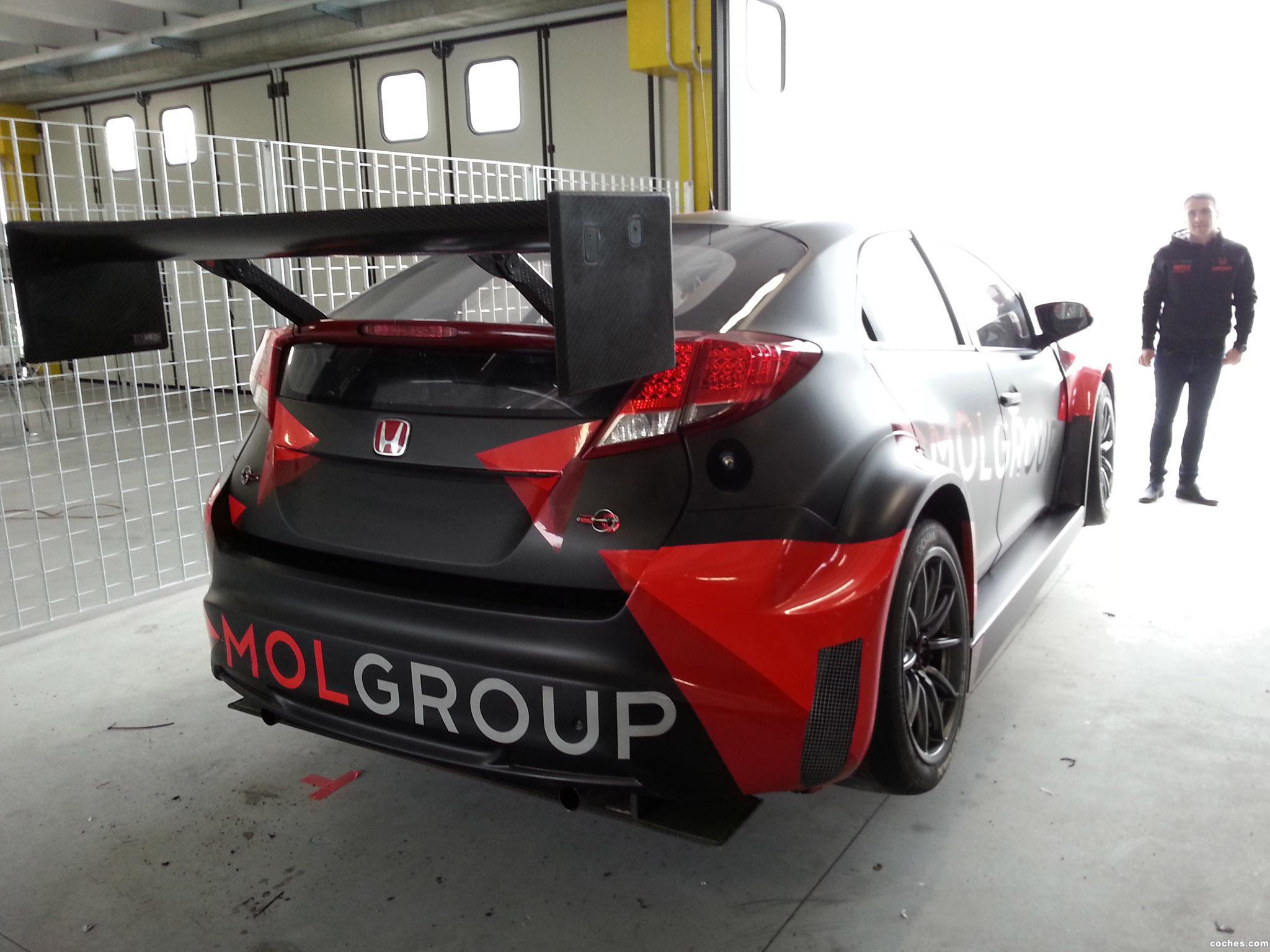 Foto 1 de Honda Civic WTCC Zengo Motorsport 2014