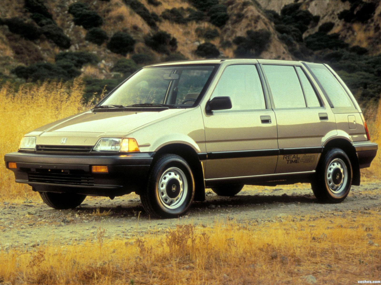 Foto 0 de Honda Civic Wagon 1984