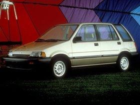 Ver foto 2 de Honda Civic Wagon 1984
