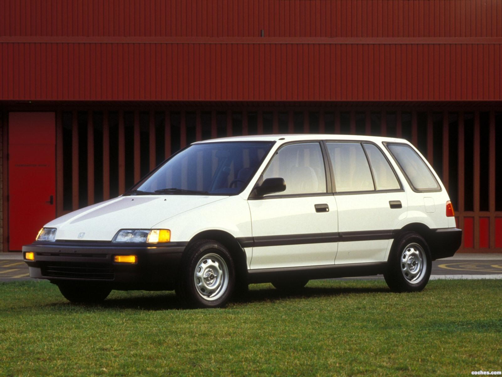Foto 0 de Honda Civic Wagon 1988