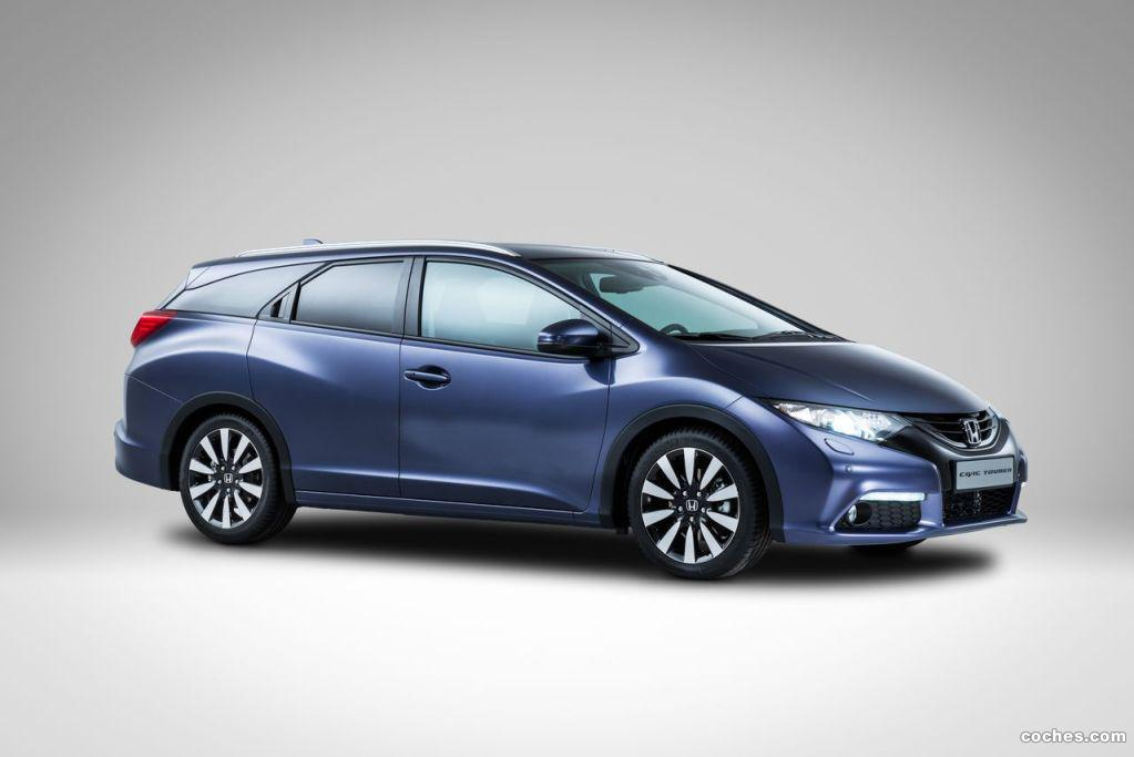 Foto 3 de Honda Civic Tourer 2014