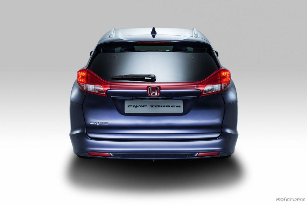 Foto 7 de Honda Civic Tourer 2014