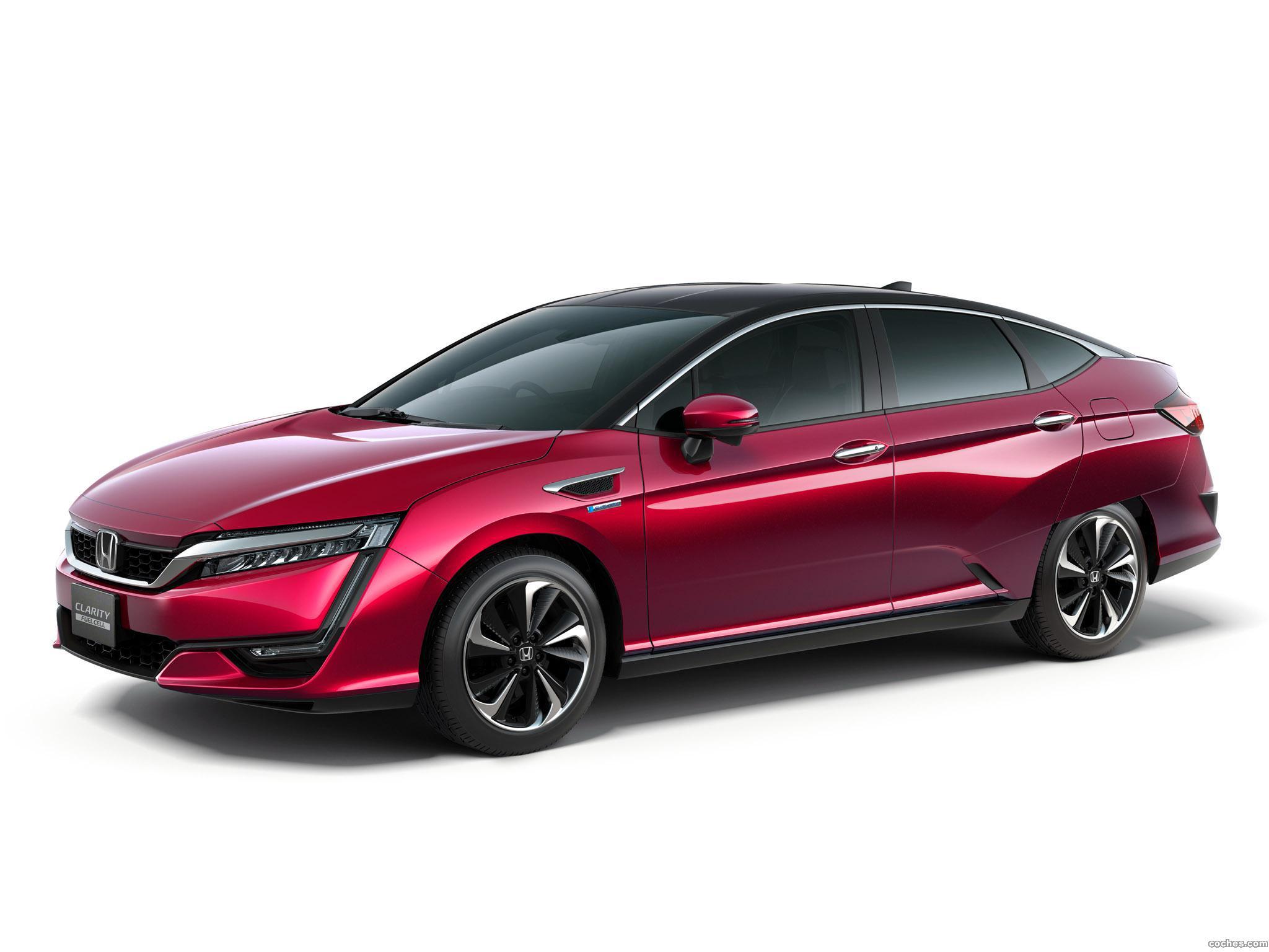 Foto 0 de Honda Clarity Fuel Cell Concept 2015