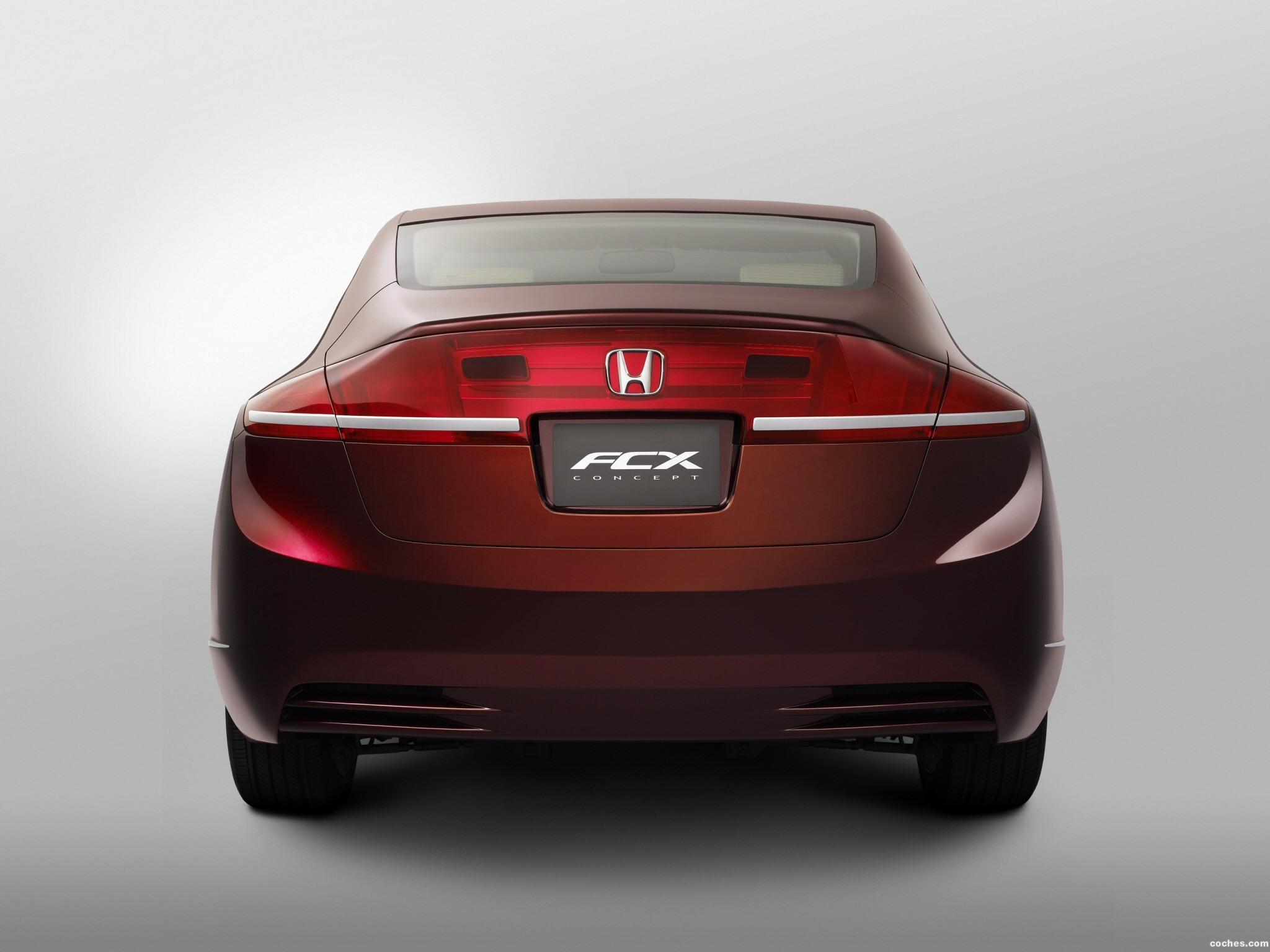 Foto 9 de Honda FCX Concept 2006