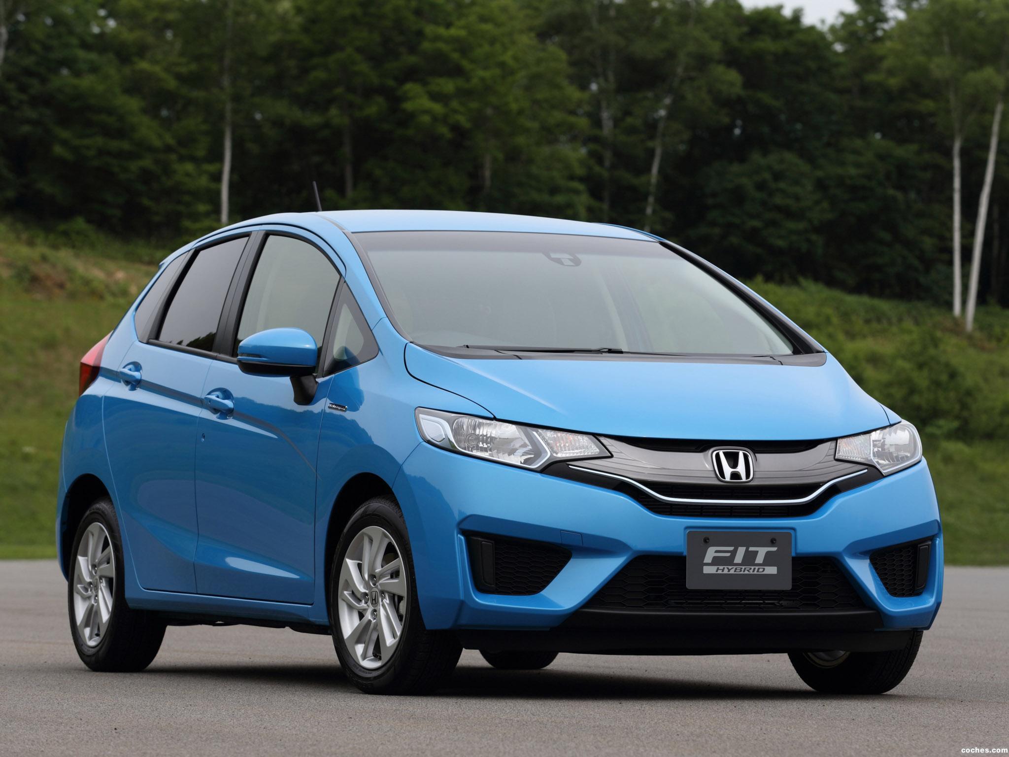 Foto 0 de Honda Fit Hybrid 2014