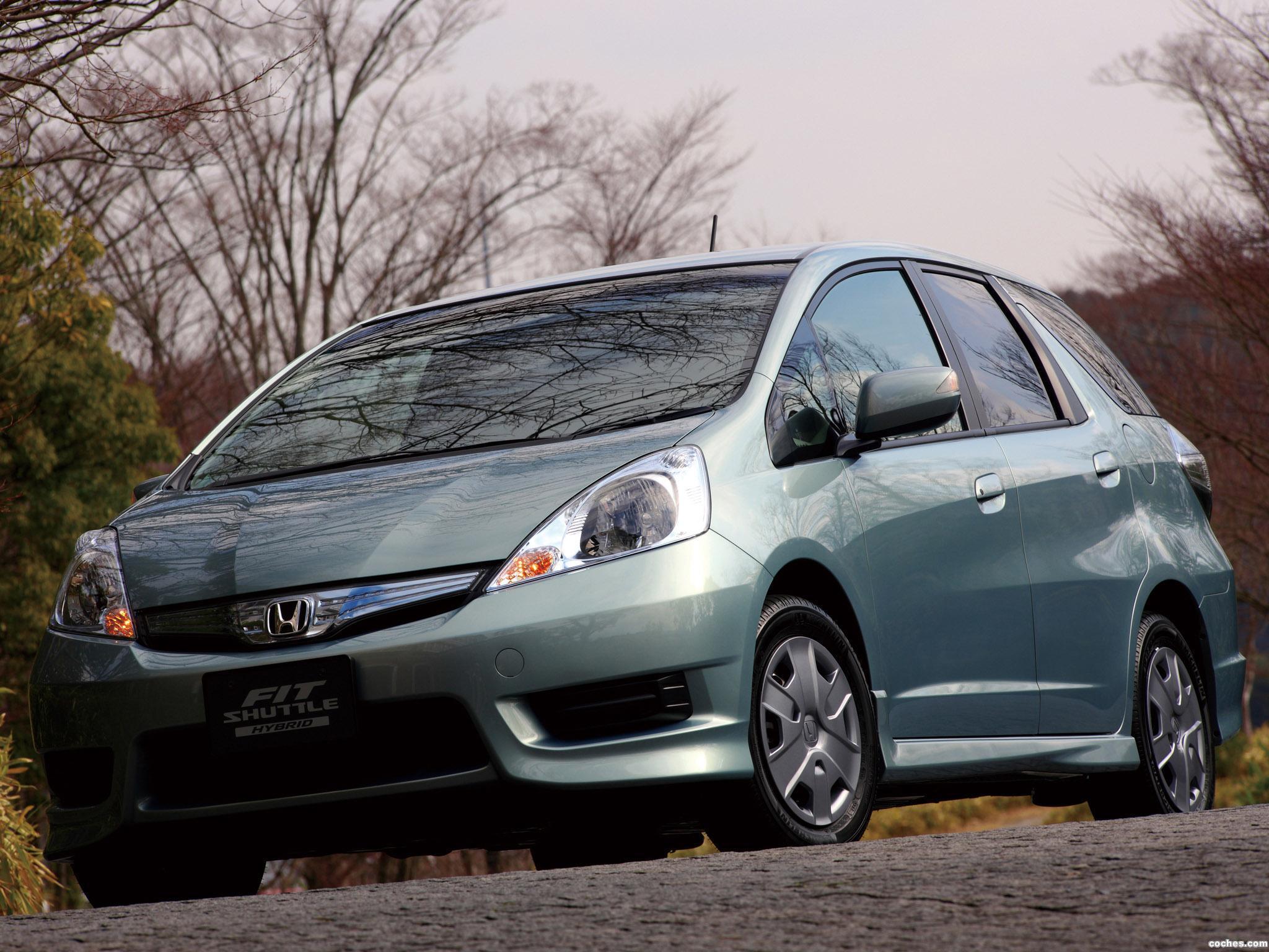 Foto 0 de Honda Fit Shuttle Hybrid 2011